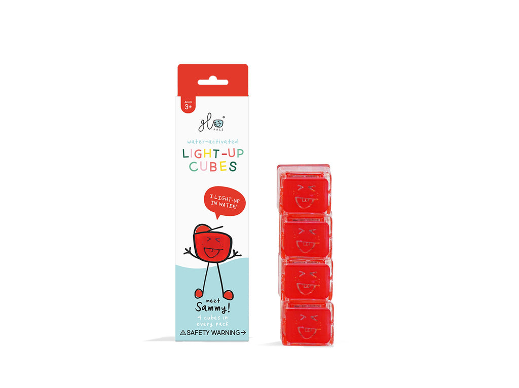 Glo Pals 4pk Red