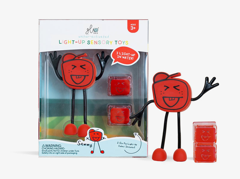 Glo Pal Character Red