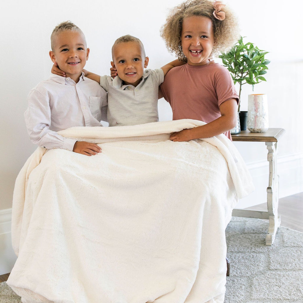 Saranoni Natural Lush Toddler Blanket