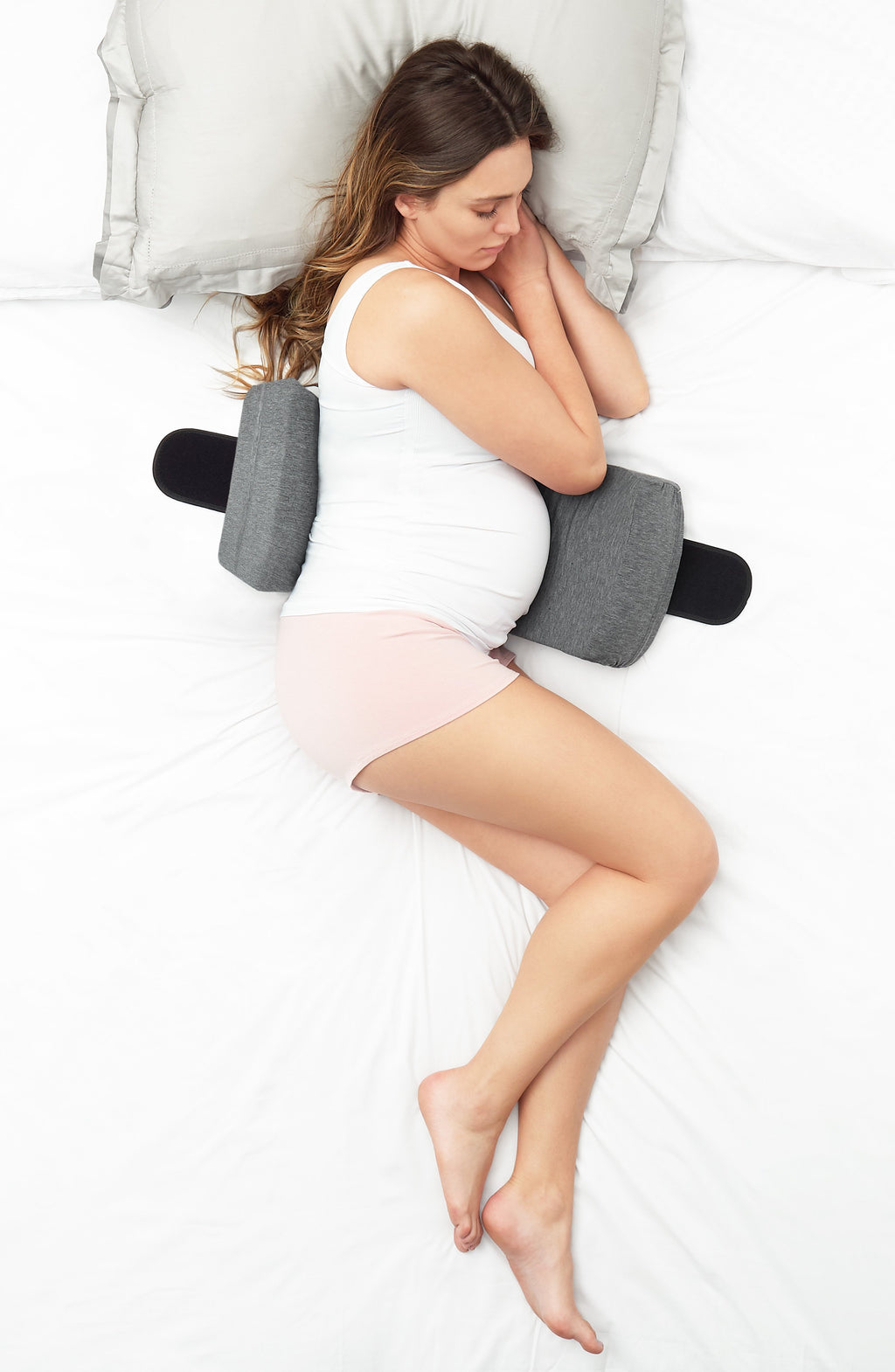 Belly Bandit S.O.S. Sleep-On-Side Pregnancy Pillow