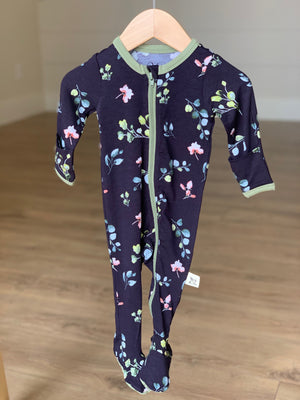 Footed Pajama Francis Floral