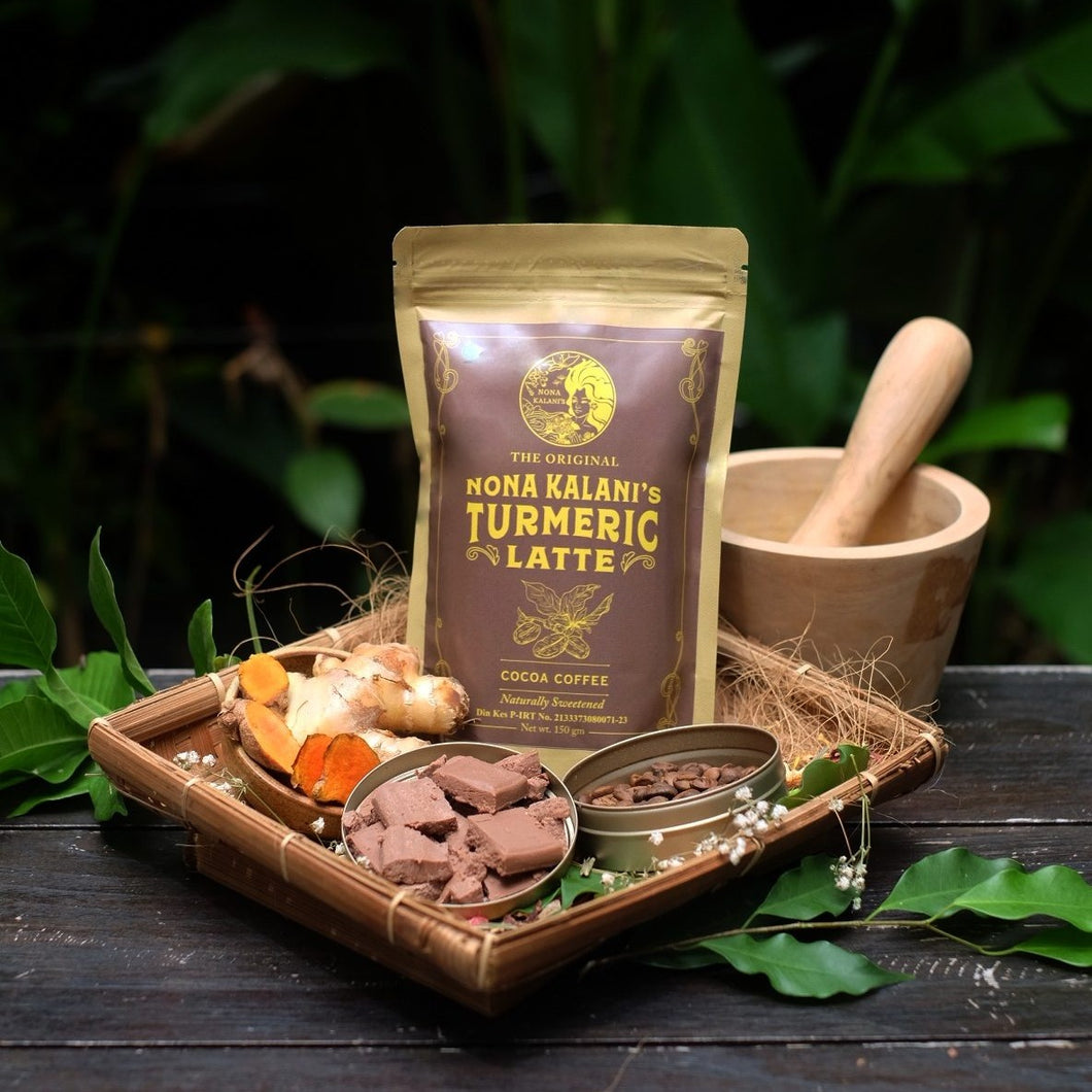 Cocoa Coffee with Turmeric