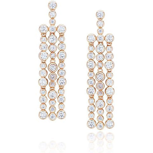 Bubbles Zircon Earrings