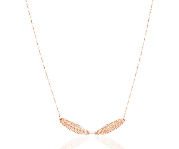 Leuce Double Small Necklace