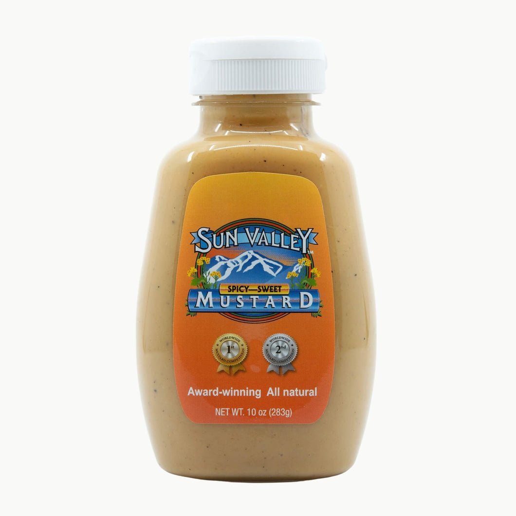 Spicy-Sweet Mustard Squeeze Bottle