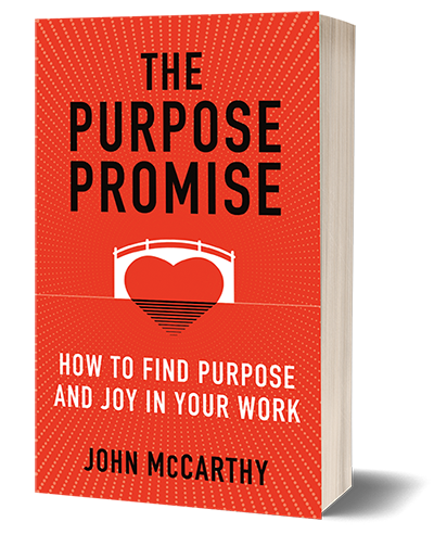 The Purpose Promise: How to Find Purpose and Joy in Your Work image.