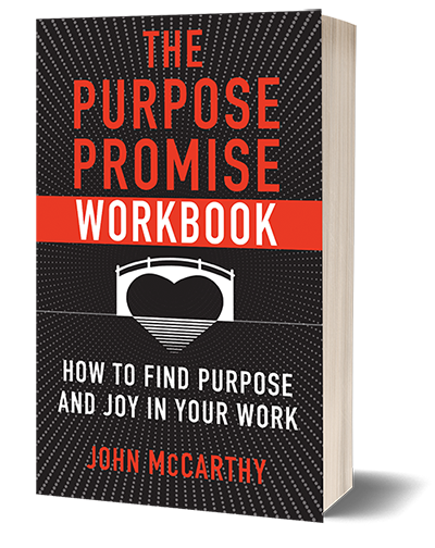 The Purpose Promise Workbook: How to Find Purpose and Joy in Your Work image.