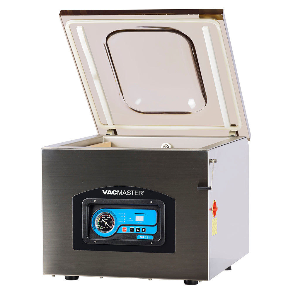 VacMaster VP321 Commercial Chamber Vacuum Sealer with 2 Seal Bars