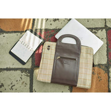 Load image into Gallery viewer, Chocolate Brown Handy Laptop Bag