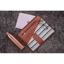 Load image into Gallery viewer, Pencil Stripe Laptop Sleeve