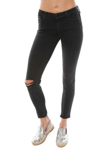 MOTHER Looker Ankle Fray Skinny Jean