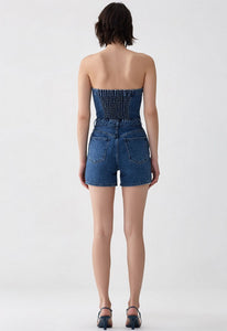 AGOLDE Sandy Strapless All One Romper
