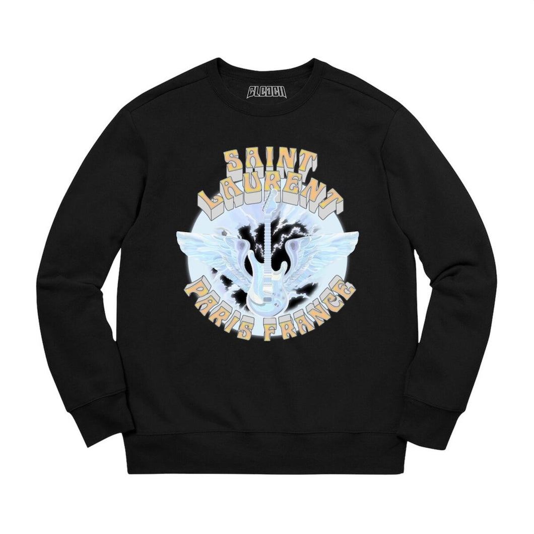 Bleached Goods Rising Wings Crewneck