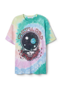 DAYDREAMER Grateful Dead Space Your Face Weekend Tee