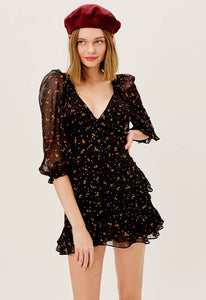 For Love & Lemons Juliana Mini Dress