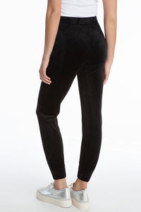 Juicy Couture Velour Joggers in Black