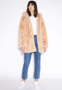 Apparis Marie Hooded Coat