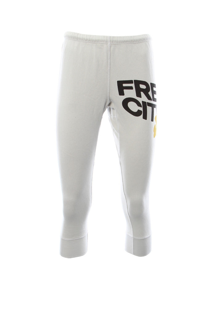 FREE CITY Large Swami 3/4 Sweatpants in Prismwhite