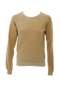 FREE CITY AW Glass Splash Raglan in Golden Glass in Golden Grass