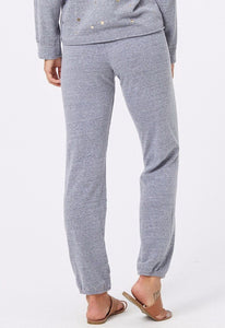 Monrow Heather Fleece Vintage Sweatpants