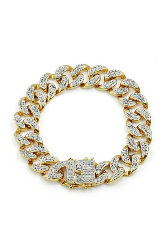 SHOP PAIGE Iced Cuban Bracelet