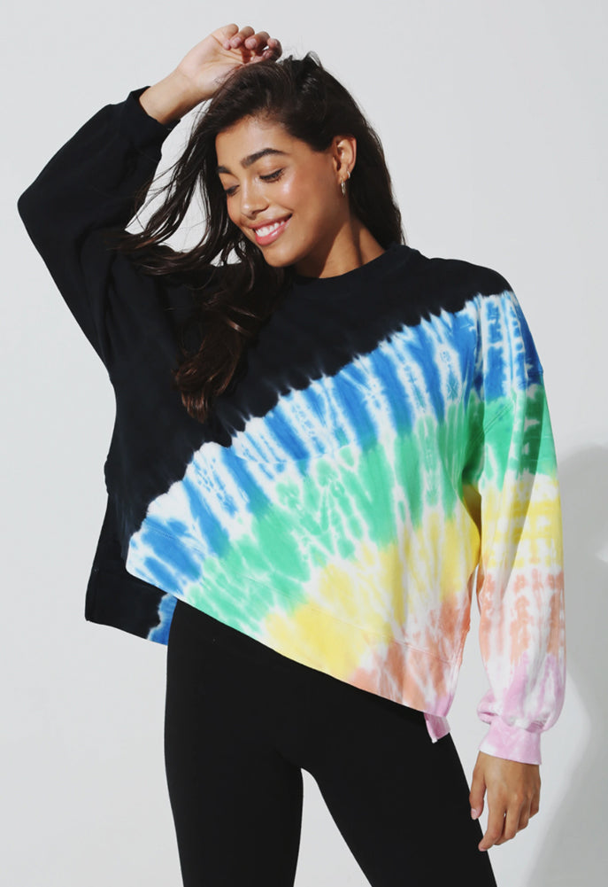 Electric & Rose Beam Wash Neil Sweatshirt