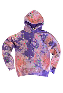 SINGER22 Exclusive OOAK22 Splatter Paint Hoodie