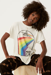 DAYDREAMER Pink Floyd Retro Rainbow Tour Tee