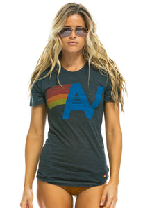 Aviator Nation Logo Crew Tee Shirt