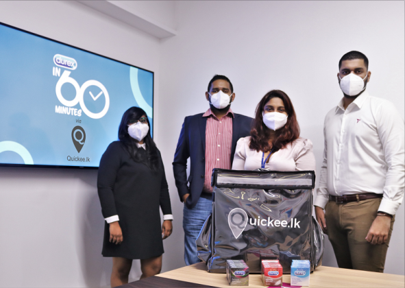 Quickee.lk and Durex offer climactic delivery service