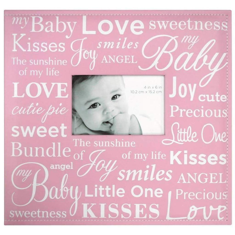 "MBI Expressions Post Bound Album W/Window 12""X12"" Baby - Pink"