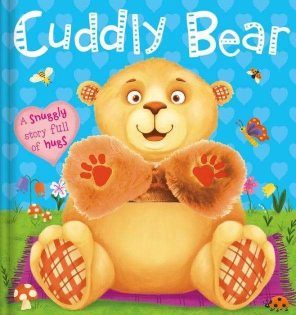 Touch and feel cuddly bear