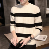 2020 new hot-selling Brand Men's Slim  Cotton Sweater Fashion Casual  Overalls Pullovers Sweater