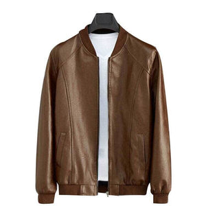 Leather Jacket Men Jacket Men Leather Jackets Jackets and Coats Mens Winter Coats Winter Jacket Faux Leather Casual No Leather