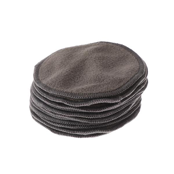 Bamboo cotton reusable make up pads charcoal trus.