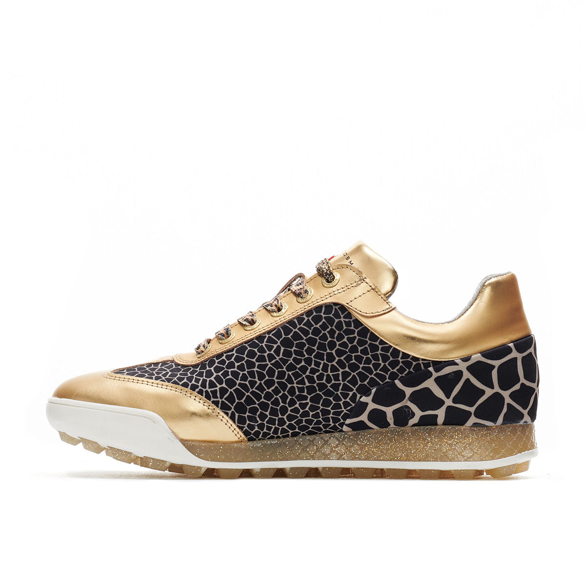 Women's Marquessa Animal/Gold Golf Shoe