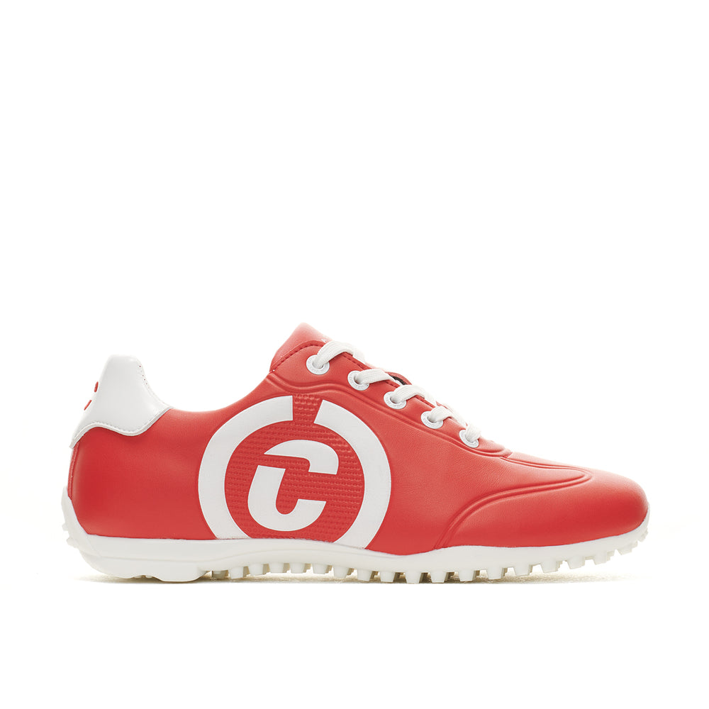 Women's Queenscup Red Golf Shoe