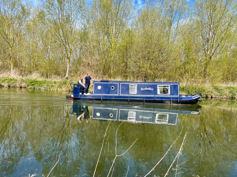 Canal Boat on the Chelmer