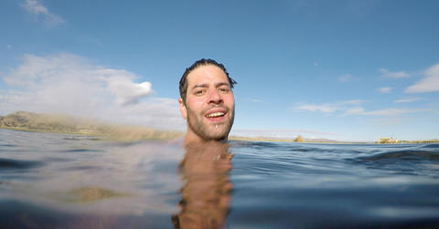 Wild Swimming in the Andes