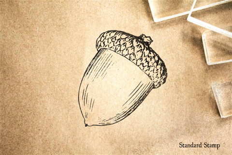 Acorn Rubber Stamp