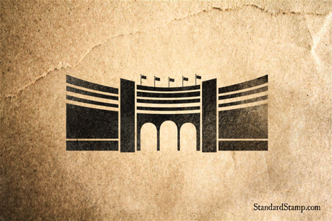 Admiralty Arch Rubber Stamp