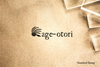 Age Otori Japanese for Looking Worse After a Haircut Rubber Stamp