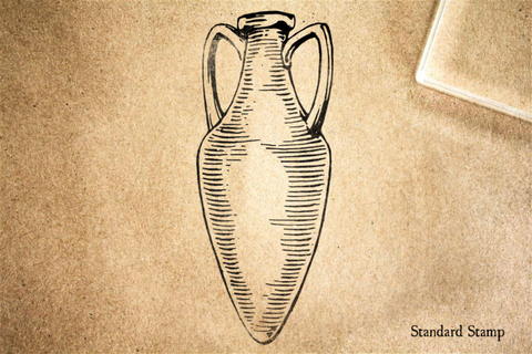 Amphora Rubber Stamp