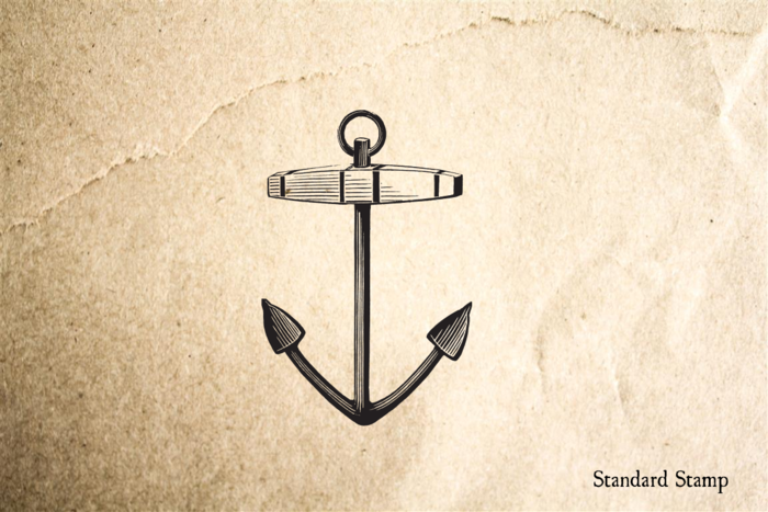 Anchor Classic Rubber Stamp