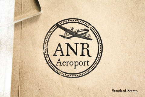 Antwerp Travel Rubber Stamp