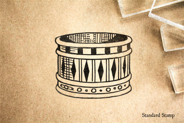 Armlet Rubber Stamp
