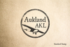 Aukland New Zealand Rubber Stamp