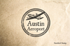 Austin Texas Rubber Stamp