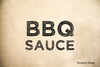 BBQ Sauce Rubber Stamp