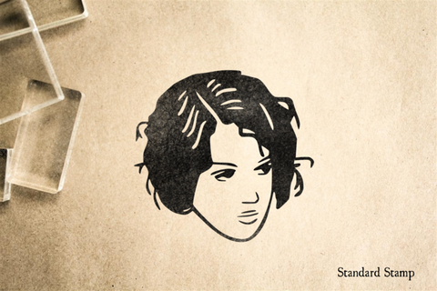 Bad Hair Day Rubber Stamp